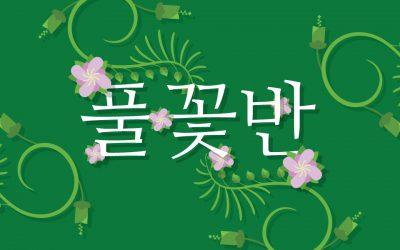 풀꽃반 2017 가을 학기